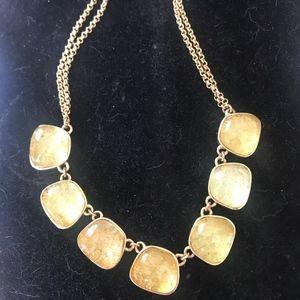 Kara Ross gold flecked necklace